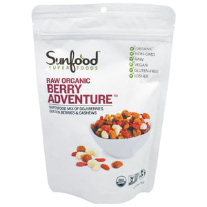 Sunfood, Raw Organic Berry Adventure, 6 oz (170 g)