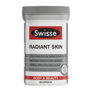 Swisse Radiant Skin 60 Capsules Collagen Vitamin C