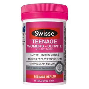 Swisse Teenage Ultivite Women's 60 Tablets