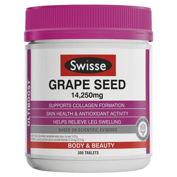 Swisse Ultiboost Grape Seed 14250mg 300 Tablets