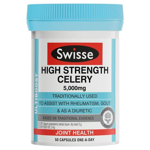 Swisse Ultiboost High Strength Celery 5000 mg 50 Caps