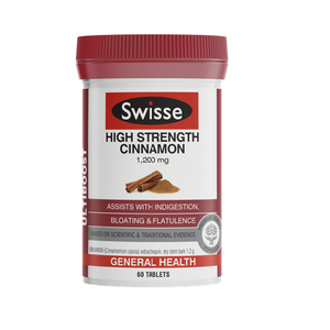 Swisse Ultiboost High Strength Cinnamon 1200 mg 60 Tablets