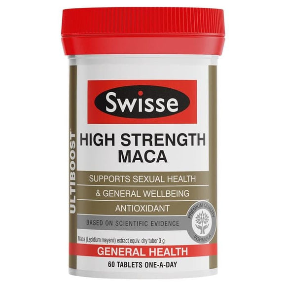 Swisse Ultiboost High Strength Maca 60 Tablets