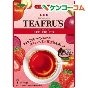 Tiffel's Red Fruit 12.6 g 12 pieces Teh Rasa Apel dan Blackberry