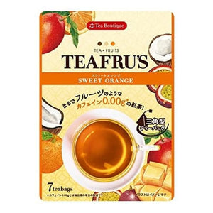 Tiffful Sweet Orange 14 g 12 Teabags Teh Rasa Jeruk