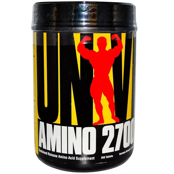 Universal Nutrition,Amino 2700,Sustained Release Amino Acid 350Tablets