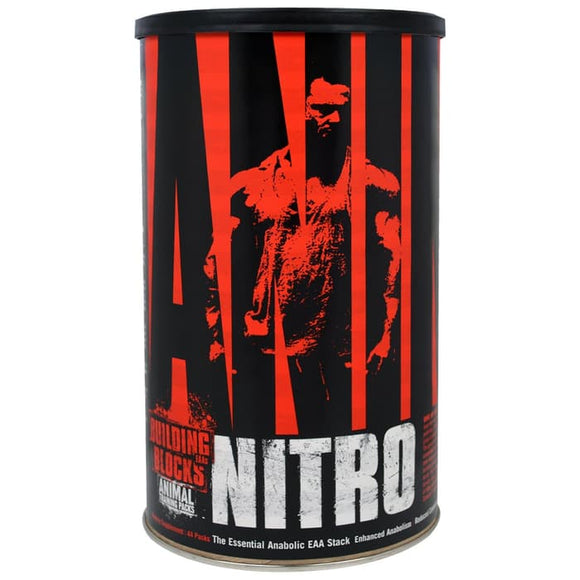 Universal Nutrition,Animal Nitro,The Essential Anabolic EAA Stack,44P