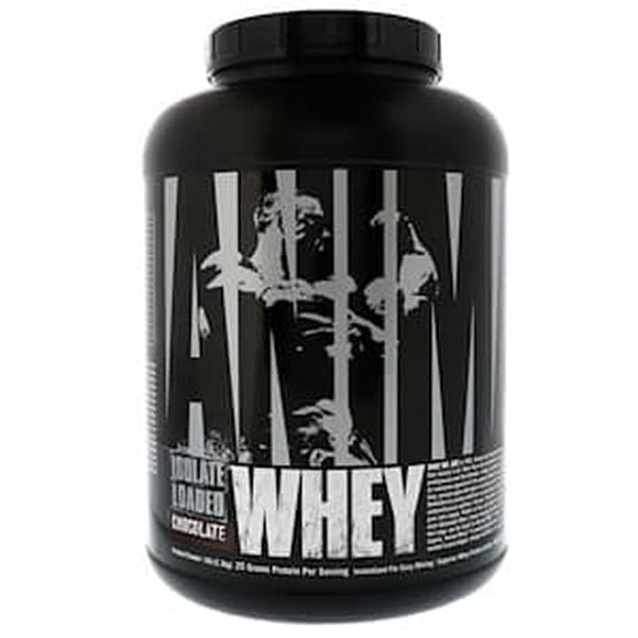 Universal Nutrition,Animal Whey Isolate Loaded,Chocolate,5 lb (2.3g)