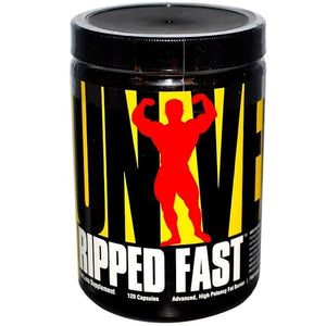 Universal Nutrition,Ripped Fast,Advanced,High Potency Fat Burner,120C