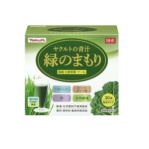 Yakult Health Foods Yakult Blue Juice 30 Mega of Green