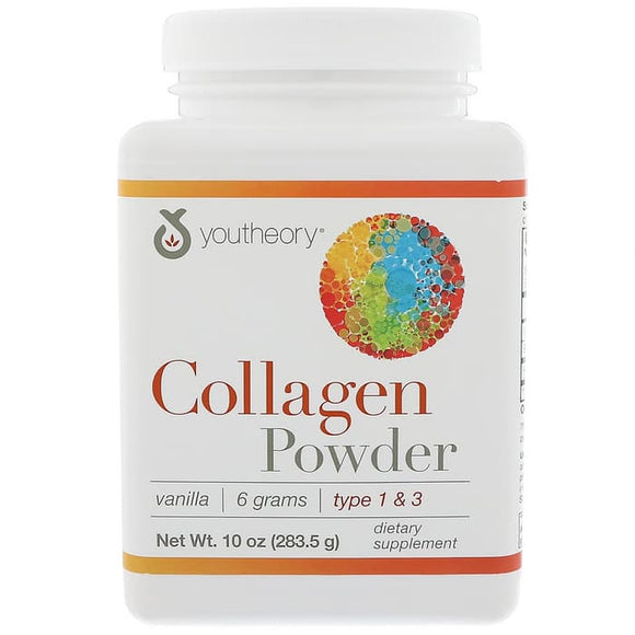 Youtheory, Collagen Powder, Vanilla, 10 oz (283.5 g)