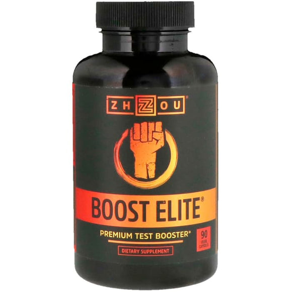 Zhou Nutrition, Boost Elite, Premium Test Booster, 90 Veggie Capsules