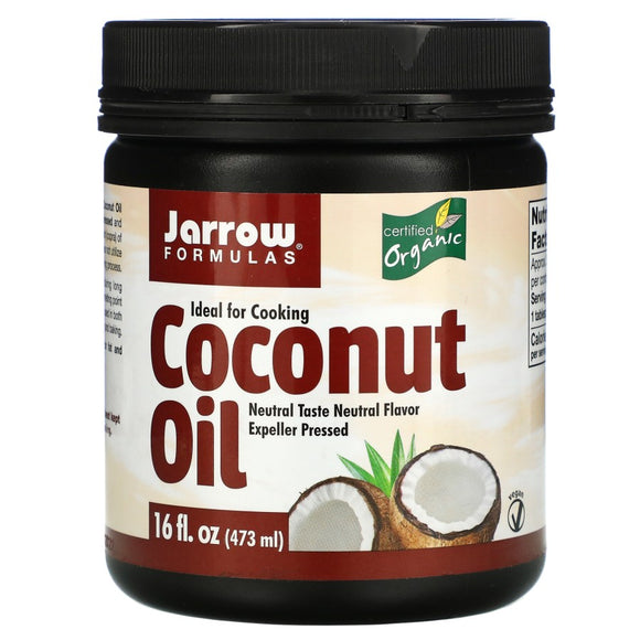 Jarrow Formulas, Organic Coconut Oil, Expeller Pressed, 473 g
