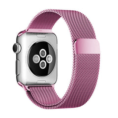 Bracelet Apple Watch milanais acier inoxydable - 5 coloris