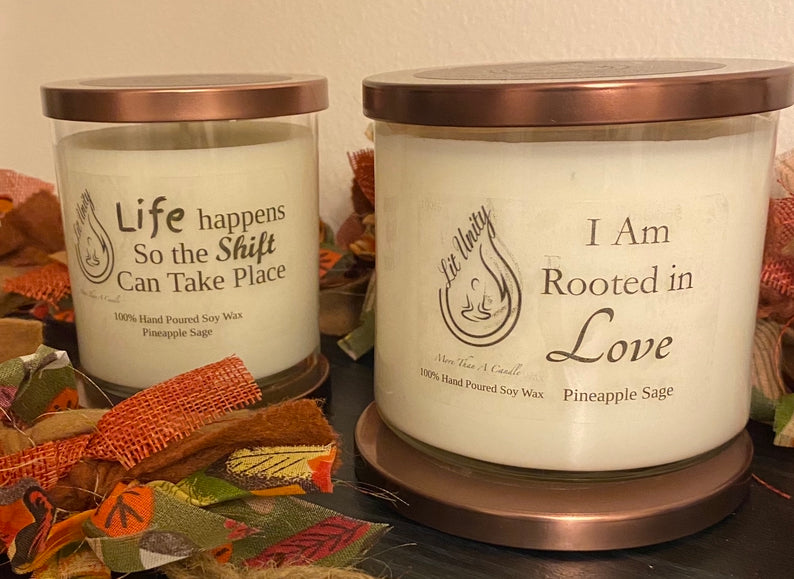 Twin Flame Candle (3-Wick size)