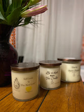 10 Oz Glass Status Jar Hand Poured Soy Wax Candle