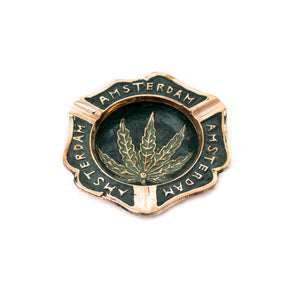 Cannabis Metal Ashtray (medium)