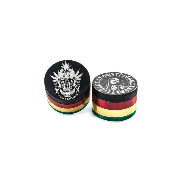 Bob Marley & Pirate Grinder (53mm) (12p in a box)