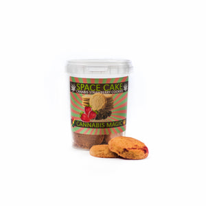CBD Strawberry Cookies (Soft) (24p in a box)