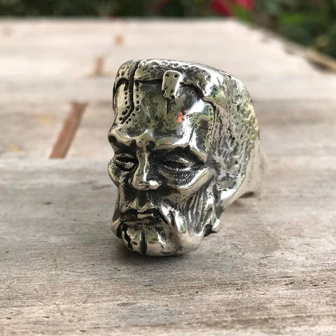 Frankenstein Ring - Silver