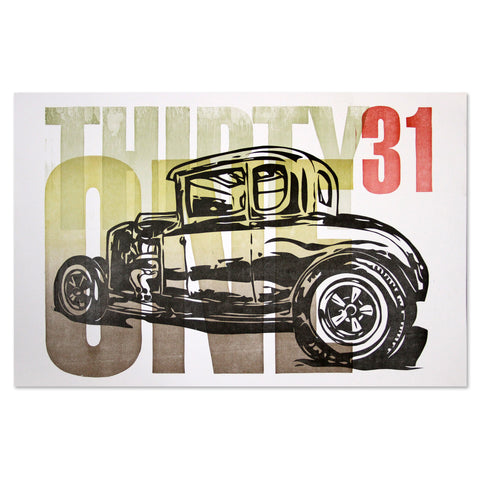 1931 Ford Poster