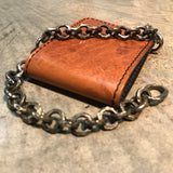 Bronze chain with wallet