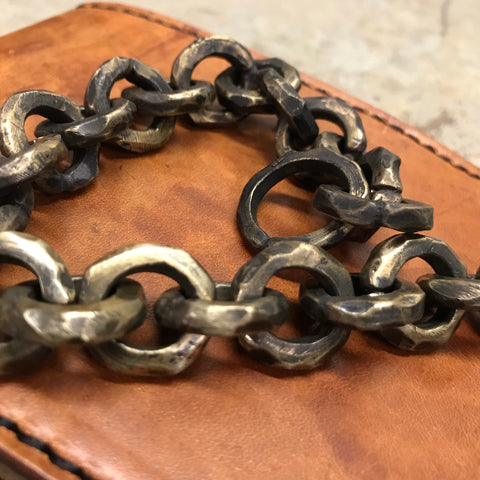 Wallet chain with wallet - large links
