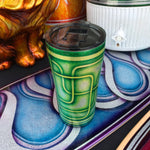 20oz Tumbler - Endless Line - Green and Lime