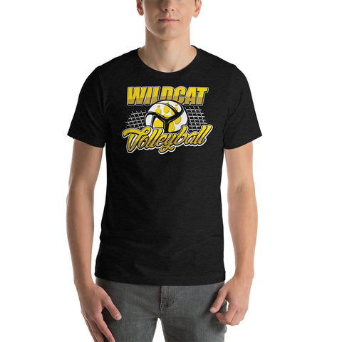 Wildcat Volleyball - Short-Sleeve Unisex T-Shirt