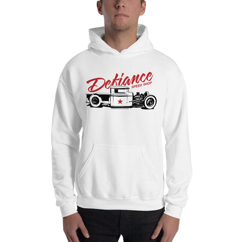 Hot Rod Pick-Up Hooded Sweatshirt