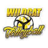 Wildcat Volleyball Stickers