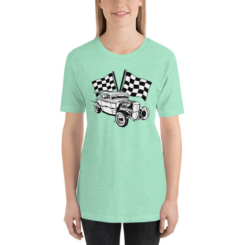 Hot Rod Race Unisex T-Shirt