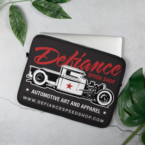 Defiance Speed Shop - Laptop Sleeve