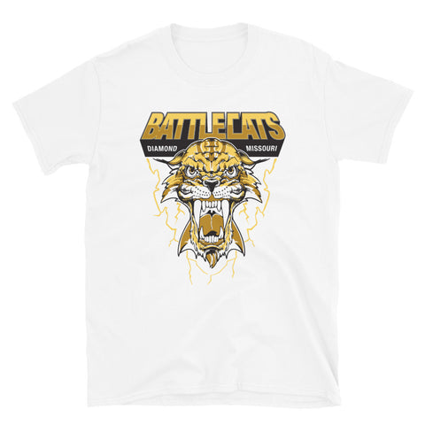 Diamond Battlecat Wrestling Short-Sleeve Unisex T-Shirt - Guildan