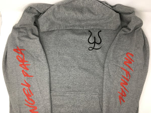 "Leonardo Aguilar ""Angel Para Un Final"" Grey Hoodie"