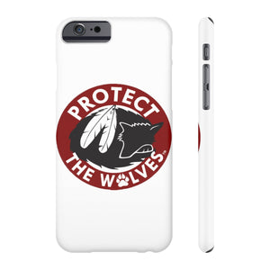 Case Mate Slim Phone Cases - Protect The Wolves