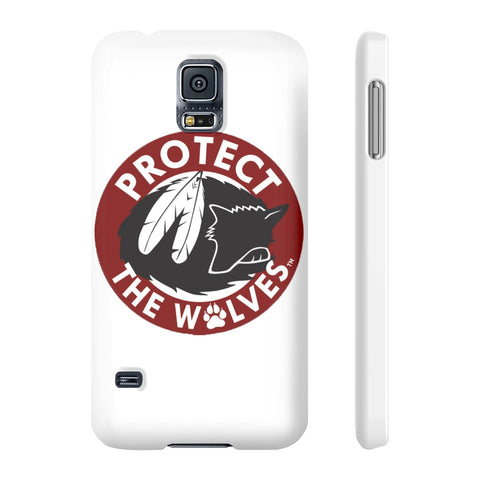 Image of Case Mate Slim Phone Cases - Protect The Wolves