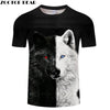 Ying and Yang Wolf  Tshirt Streetwear - Protect The Wolves