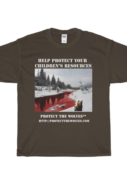 Help Protect Your Children's Resources - Protect The Wolves