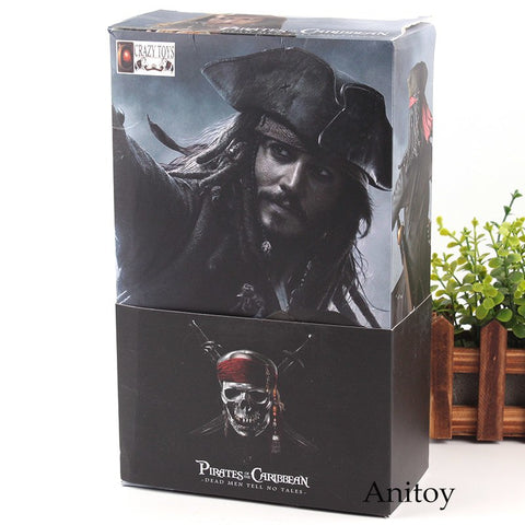 Captain Jack Sparrow from Pirates of the Caribbean Dead Men Tell No Tales  PVC Collection Model Toys - Protect The Wolves