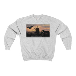 Wolf Lovers Unisex Heavy Blend™ Crewneck Sweatshirt