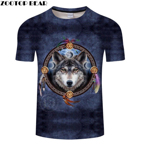 Image of Unisex Ying and Yang Wolf Tshirt - Protect The Wolves