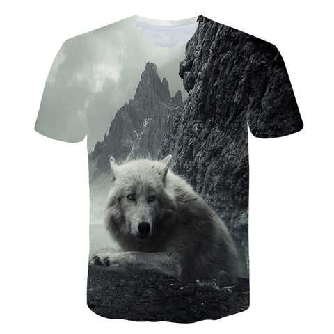 Unisex  Wolf tshirt - Protect The Wolves