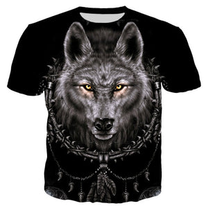 Native Themed Wolf  T Shirt - Protect The Wolves