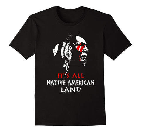 It's All Native American Land - Protect The Wolves