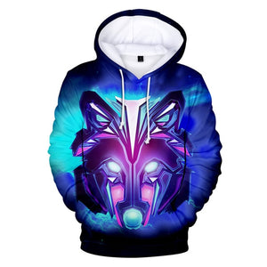 Cute Kids Clothing Wolf New fashion Wolf 3D Hoodies Sweatshirts Men Women Boys Hoodie Autumn Winter Jacket Kpop hoodies - Protect The Wolves