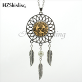 Teen Wolf Dreamcatcher Pendant