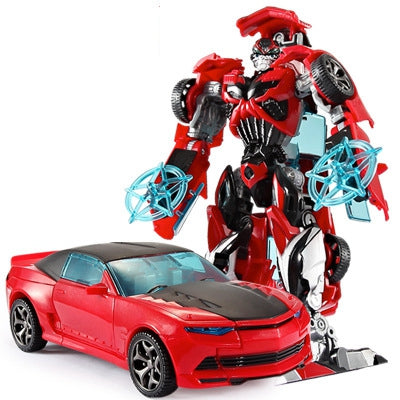 Image of 12 style Anime transformation 4 Car Robot Toys - Protect The Wolves