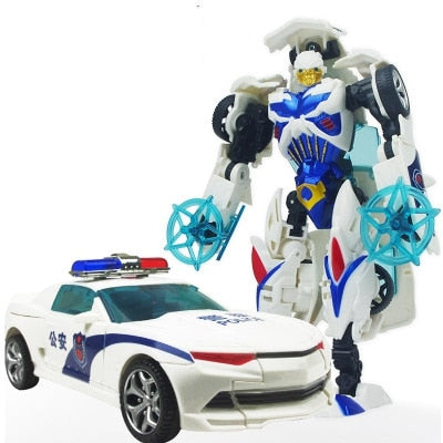 12 style Anime transformation 4 Car Robot Toys - Protect The Wolves