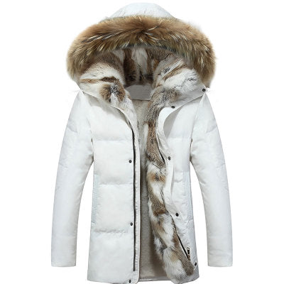 Winter men and women  jacket men high quality Men's down coat - Protect The Wolves